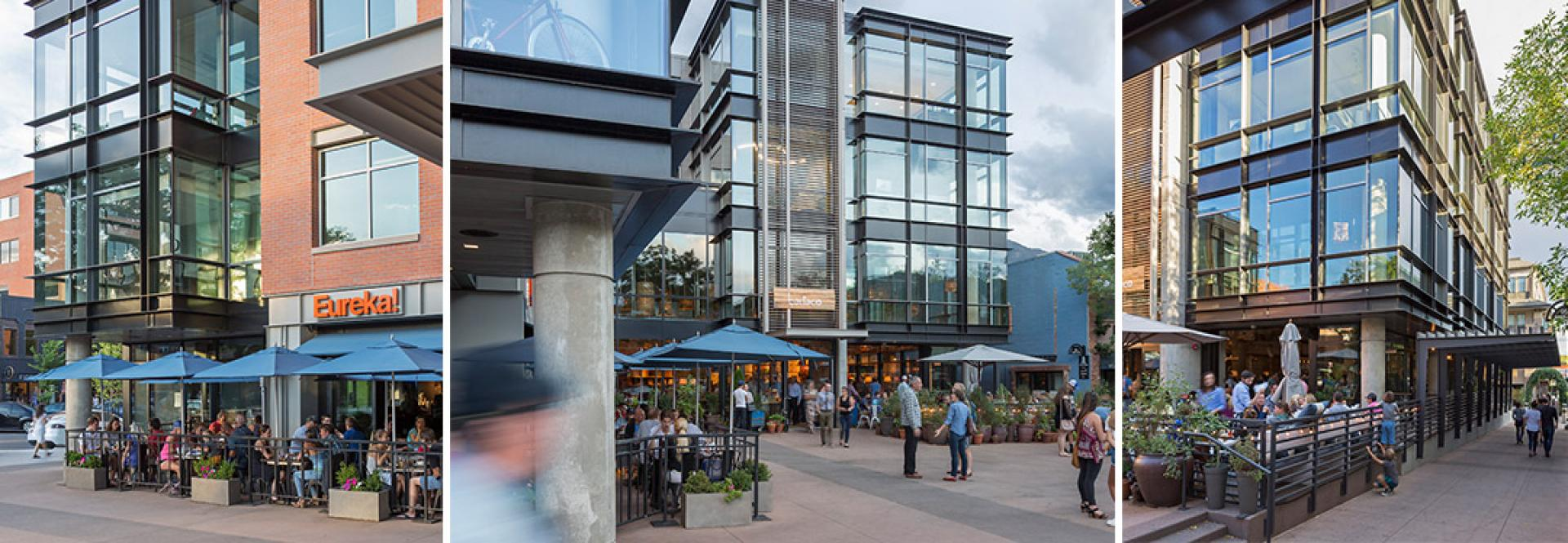 Pearl West Boulder Colorado Building Eureka Office Space - Courtyard
