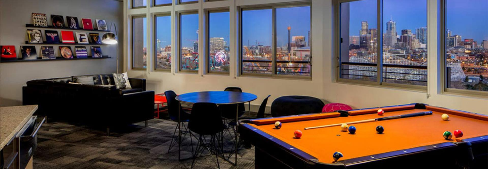 Penthouse Game Room at Turntable Studios